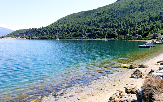 Bay near Edipsos